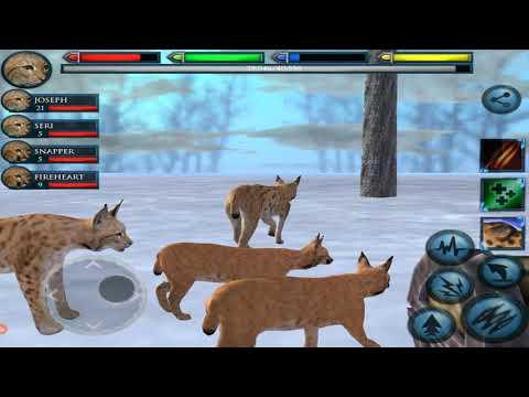 ultimate-lynx-family-simulator,-ultimate-arctic-simulator,-by-gluten-free-games