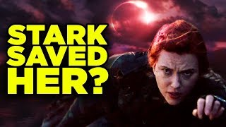 Black Widow RESURRECTION? Tony Stark Cameo Scene Theory!