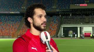 لقاء خاص مع أحمد ياسر ريان وعمر رضوان من تدريب منتخب مصر الاوليمبي -SuperTime
