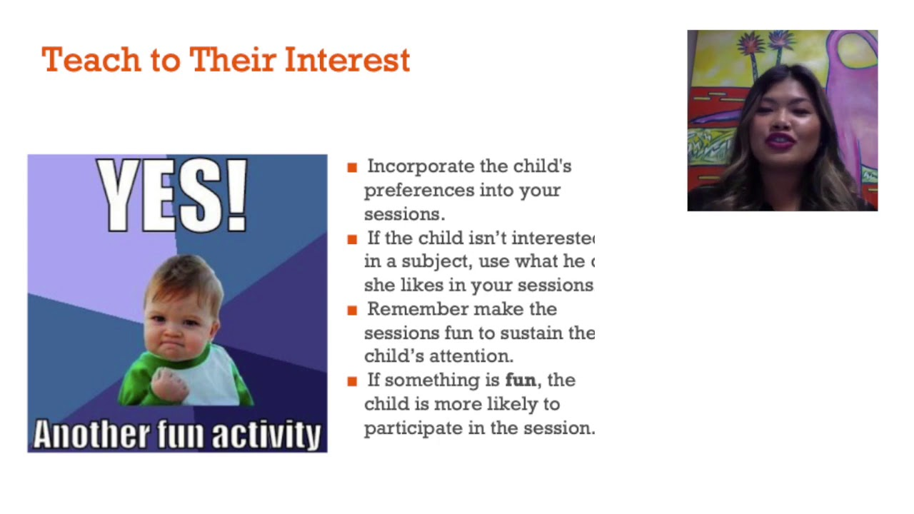Teach to their interest - Effective Home Schooling (3 of 6)