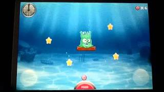Alien Fishtank Frenzy iPhone App Review Video