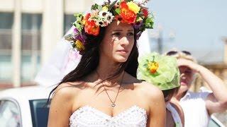 Парад невест в Туле. 13.07.2014