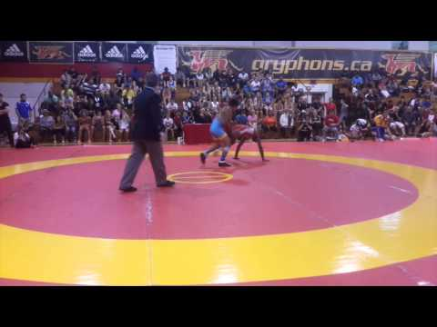 2014 Canada Cup: 57 kg Final Dillon Williams (CAN) vs. Tony Ramos (USA)