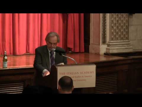 Lecture: Jonathan Galassi translating Leopardi's Canti