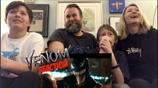 VENOM-Official trailer REACTION