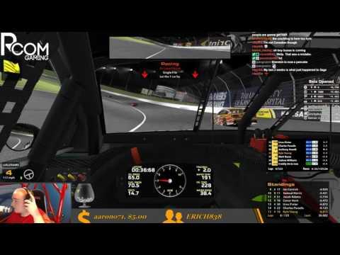 2017 NASCAR iRacing Series Fixed Week 11 @ Kansas Speedway (Wednesday Evening)