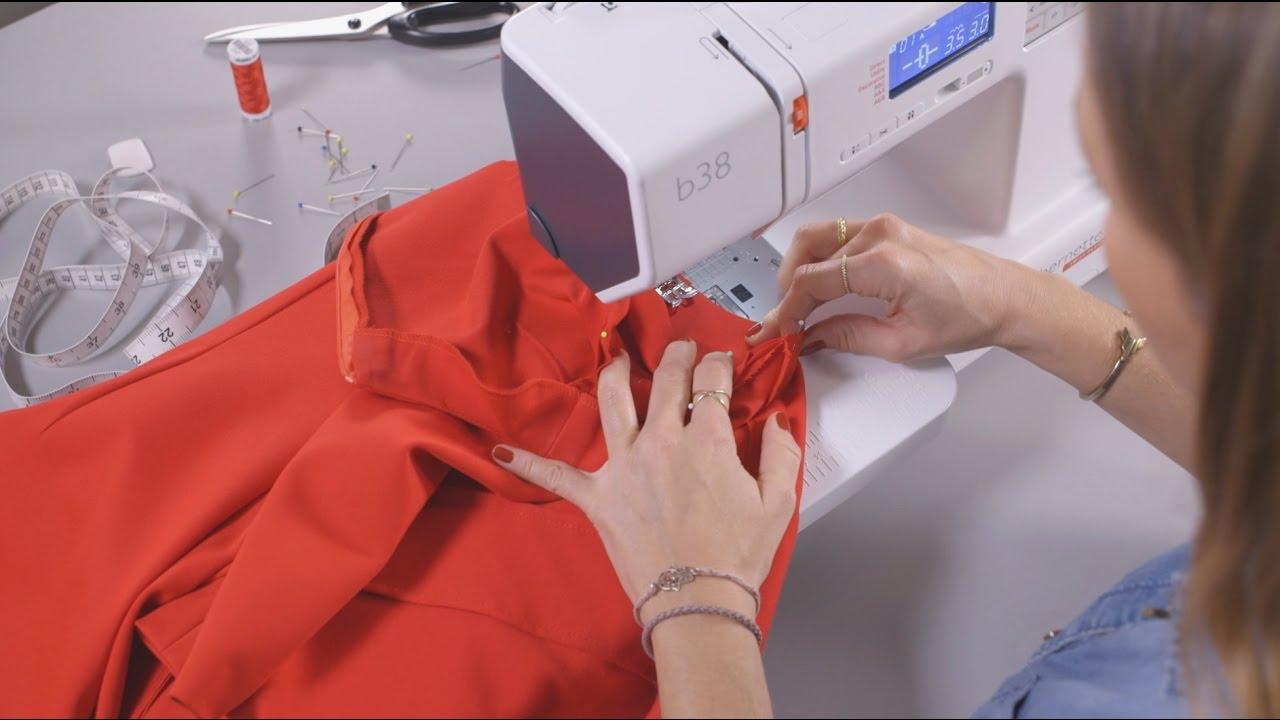 Schnittmuster Kleid Ein Und Nähanleitung Für Rotes Yg67fbyv