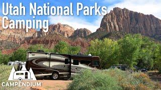 Utah National Parks RV Camping - Campendium