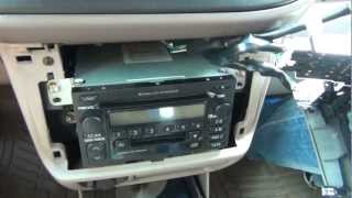 GTA Car Kits - Toyota Sienna 1998-2003 iPod, iPhone, iPad, mp3 and AUX adapter installation