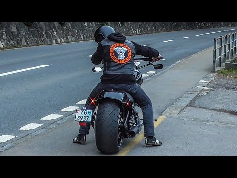 Harley Davidson FXSB Softail Breakout 2016 First Ride - YouTube