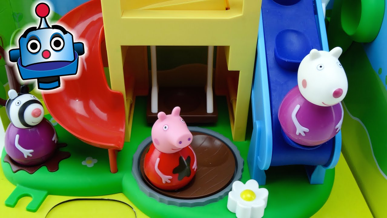 Peppa Pig Weebles Wind and Wobble Playhouse  YouTube