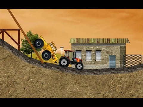 Truck Games - Tractor Mania | All 24 Levels | Monster Truck | Car Cartoons For Children