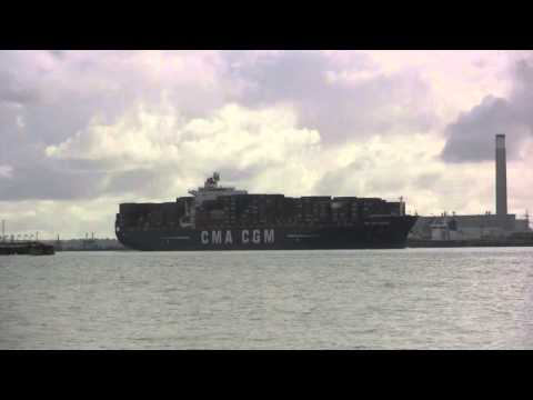 CMA CGM CONTAINER SHIP CHOPIN
