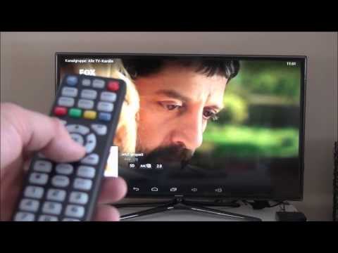 IPTV Android TV Box Live TV Türk Türkisch Arabic Deutsch XBMC Test Update 2015 TURK KANAL KODI