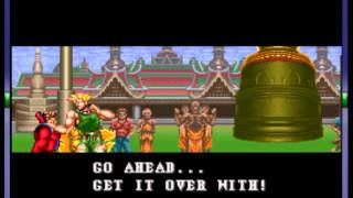 Super Street Fighter II - The New Challengers - -GUILE