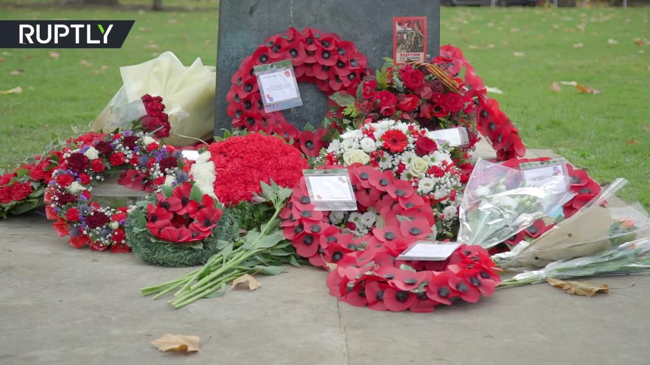 В Лондоне почтили память советских воинов, погибших во Второй мировой войне