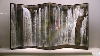 岩橋英遠《懸泉》 山種美術館 水の音 - YouTube