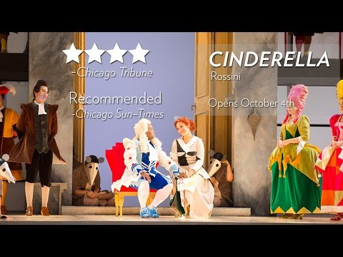 See what critics are saying about CINDERELLA at Lyric Opera. Now through October 30