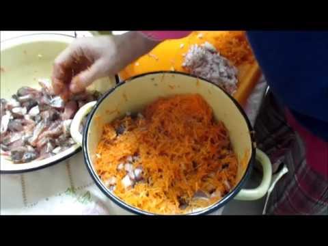 Рыбные консервы в домашних условиях рецепты с овощами