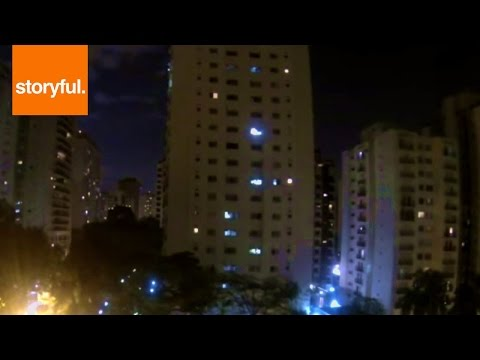 São Paulo Neighborhood Erupts in Cheers When Brazil Scores