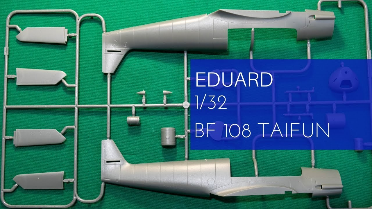 Eduard EduaJX253 Bf 108 TFace 1//32