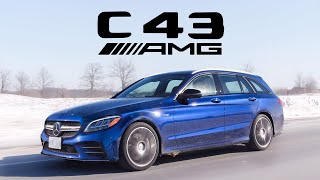 2019 Mercedes-AMG C43 Wagon Review - Sorry America...