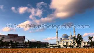 Timelapse Zoom Out - Masjid Negri Sultan Ahmad Shah Mosque, Kuantan, Malaysia