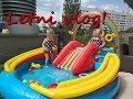 Dzień gorącego lata -  zabawa w basenie