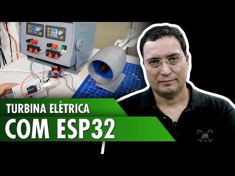 Turbina Elétrica com ESP32