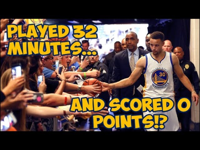 The Time Steph Curry Scored 0 Points