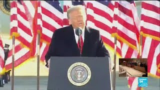 In last speech as US President, Trump wishes Biden 'great success' ahead of inauguration