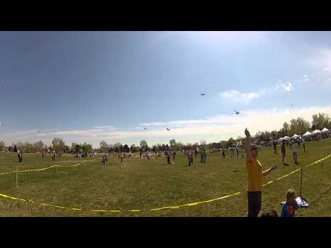 Arvada Kite Festival Great Weather