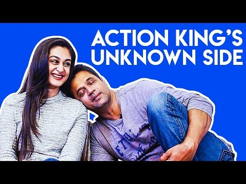Action King Arjun's Unknown Side: Aishwarya Reveals