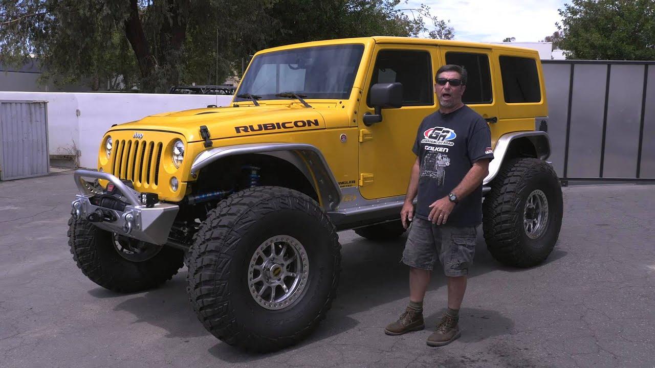 YellowJacket Rubicon Jeep JK Build GenRight Off Road