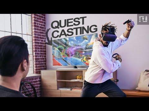 Oculus Quest - Cast On TV!