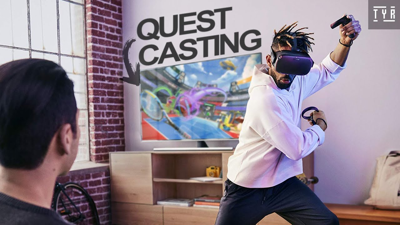 Oculus Quest - Cast on TV! - YouTube