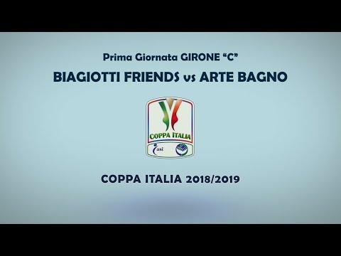 Coppa italia asi taranto  biagiotti friends vs arte