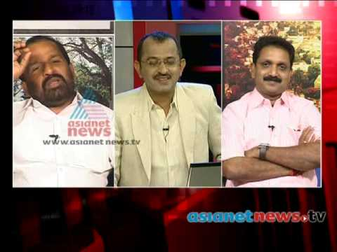 Oommen Chandy and Thiruvanchoor had discussions with team from Gujarat - News hour Part 1