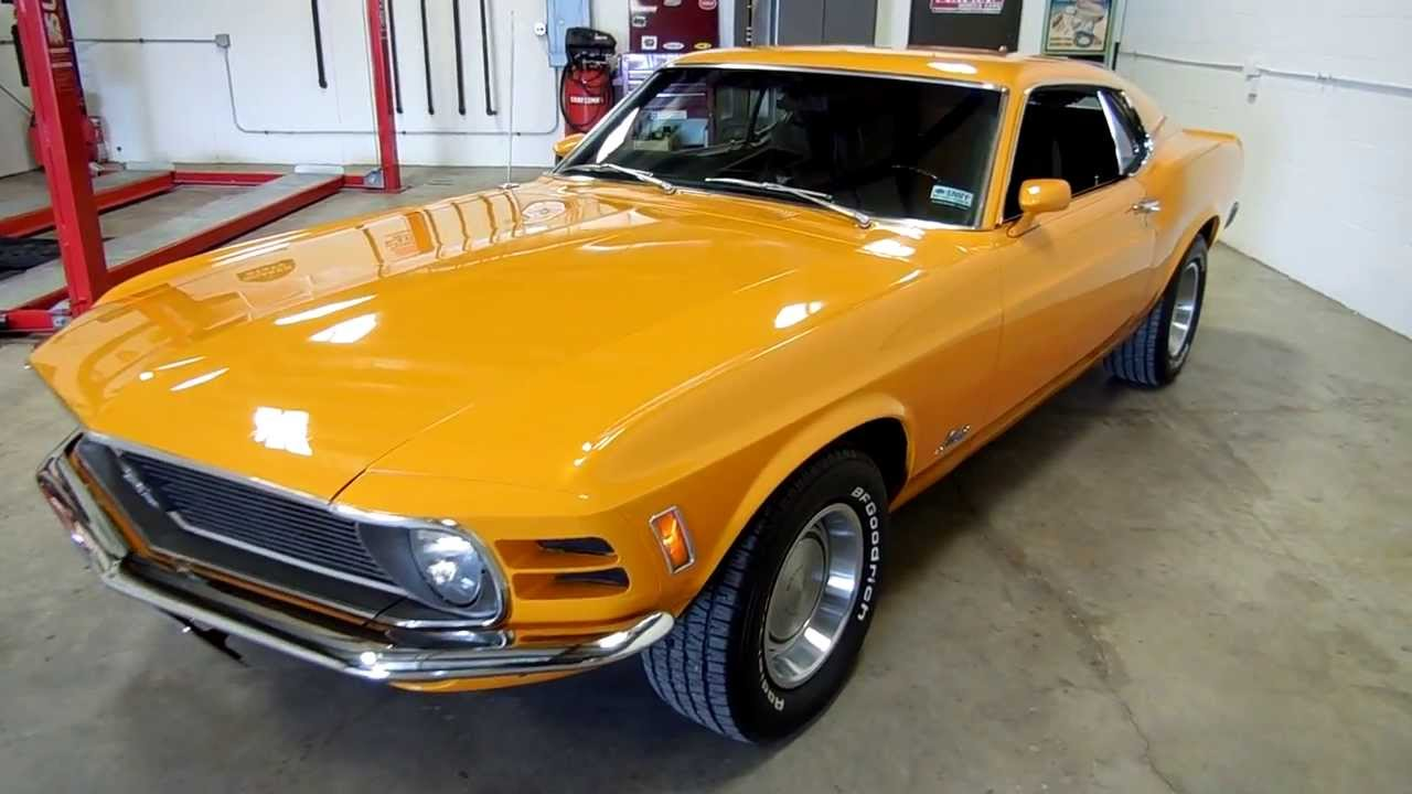 Ford San Jose >> 1970 Mustang Fastback, Low Mileage Survivor, ONE OWNER ...