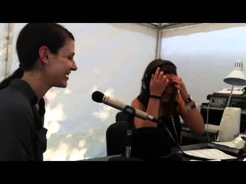 Eatliz interview for B92 Radio in Serbia @ EXIT festival 2011