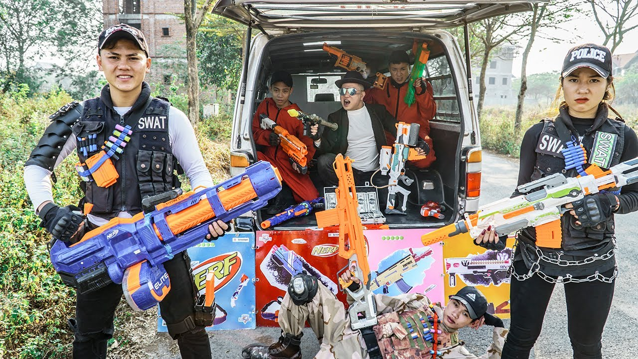 LTT Nerf War : Special Mission SEAL X Warriors Nerf Guns Fight Dr Ken Crazy The Plan Was Exposed
