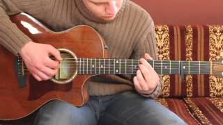 """How To Play """"Everything"""" By Ben Howard (guitar lesson / tutorial)"""