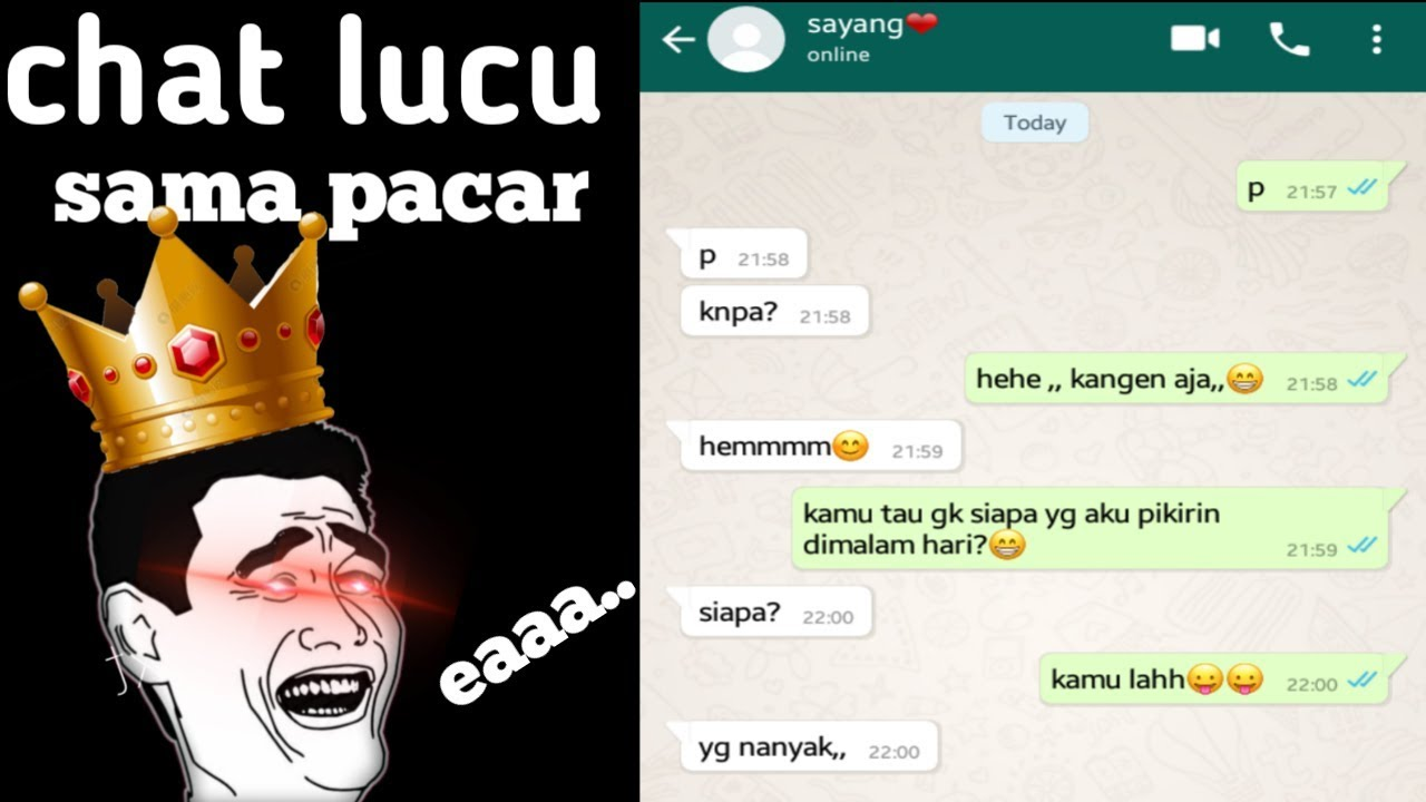 Chat Lucu Sama Pacar Di Wa 4