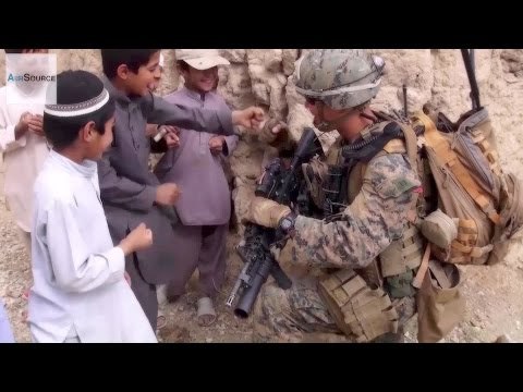 """US Army 101st Airborne Division """"Screaming Eagles"""" Patrolling In Afghanistan"""