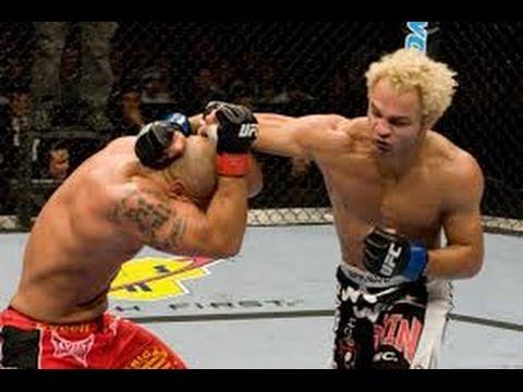 Josh Koscheck vs Thiago Alves - Elbow KO Hard Match!