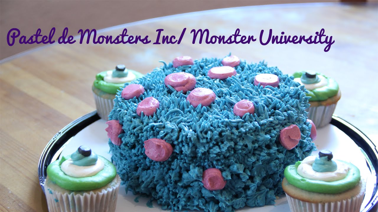 Pastel De Monsters Inc Cupcakes Monsters Inc Cake
