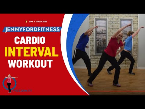 Cardio Intervals - JENNY FORD