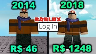 Logging Into My Forgotten Roblox Account 1325 Days Later!