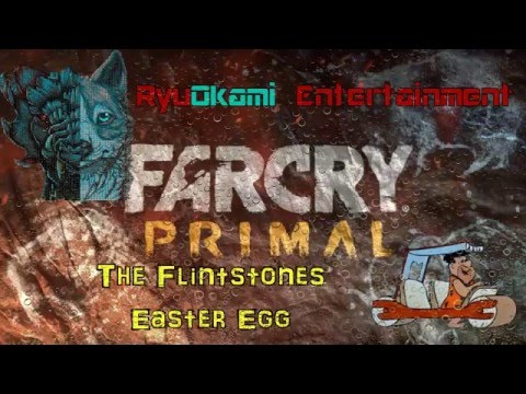Far Cry Primal Easter Egg -  The Flintstones