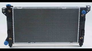 2005 BUICK LESABRE RADIATOR REMOVAL AND REPLACEMENT.  REPAIR VIDEO.